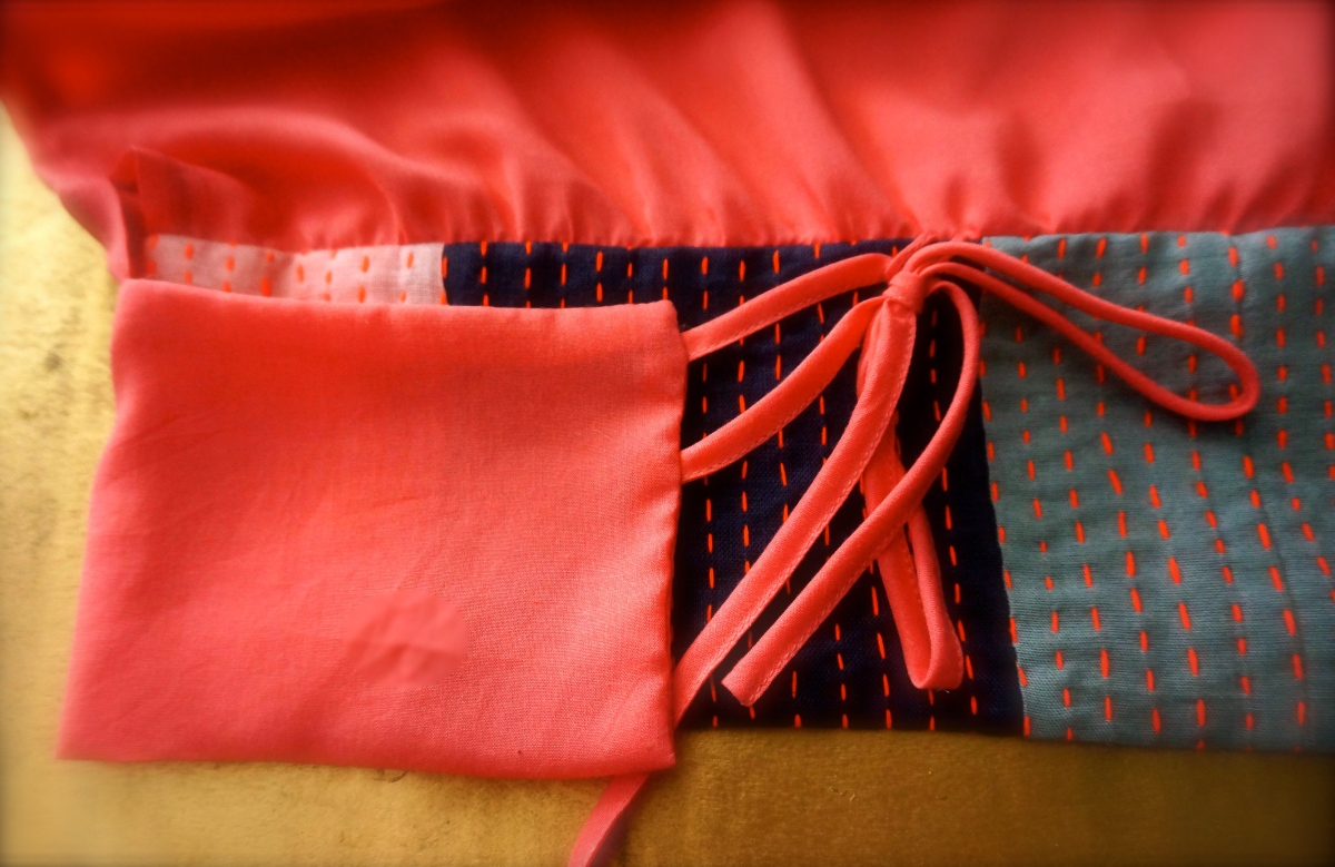 Kimono top pink