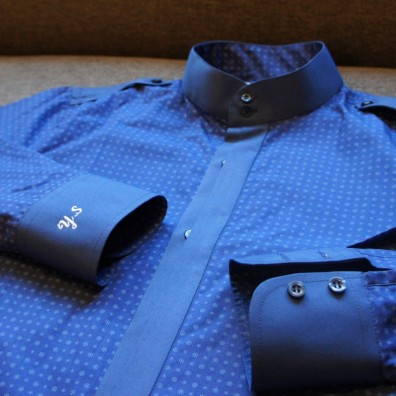 small-floral-pattern-blue-shirt